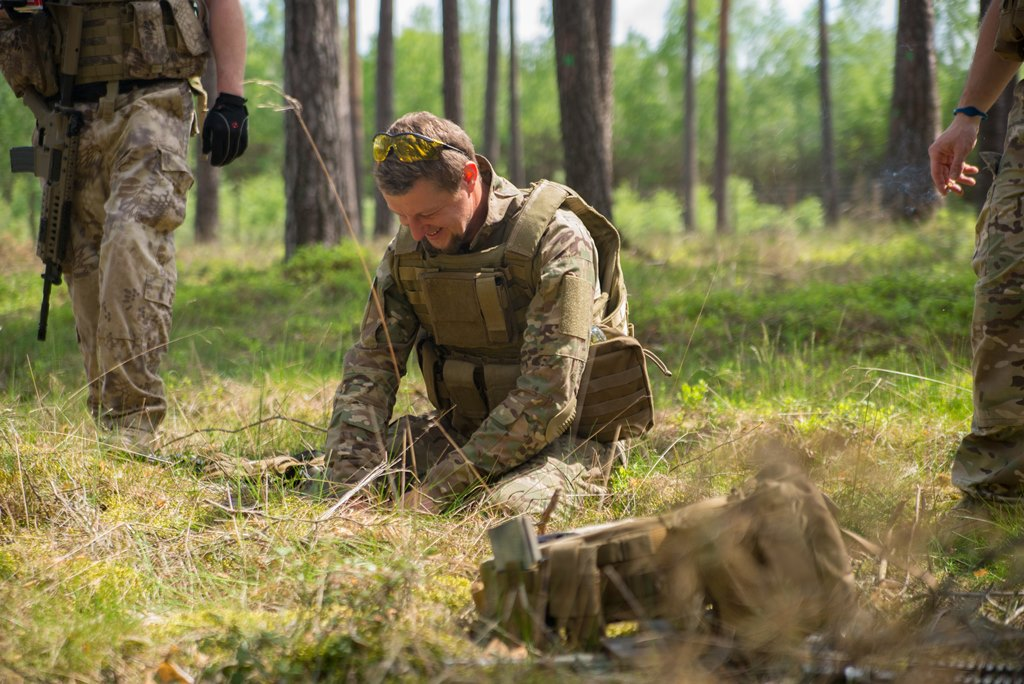 SiP OT Czersk na ćwiczeniach taktyki zielonej
