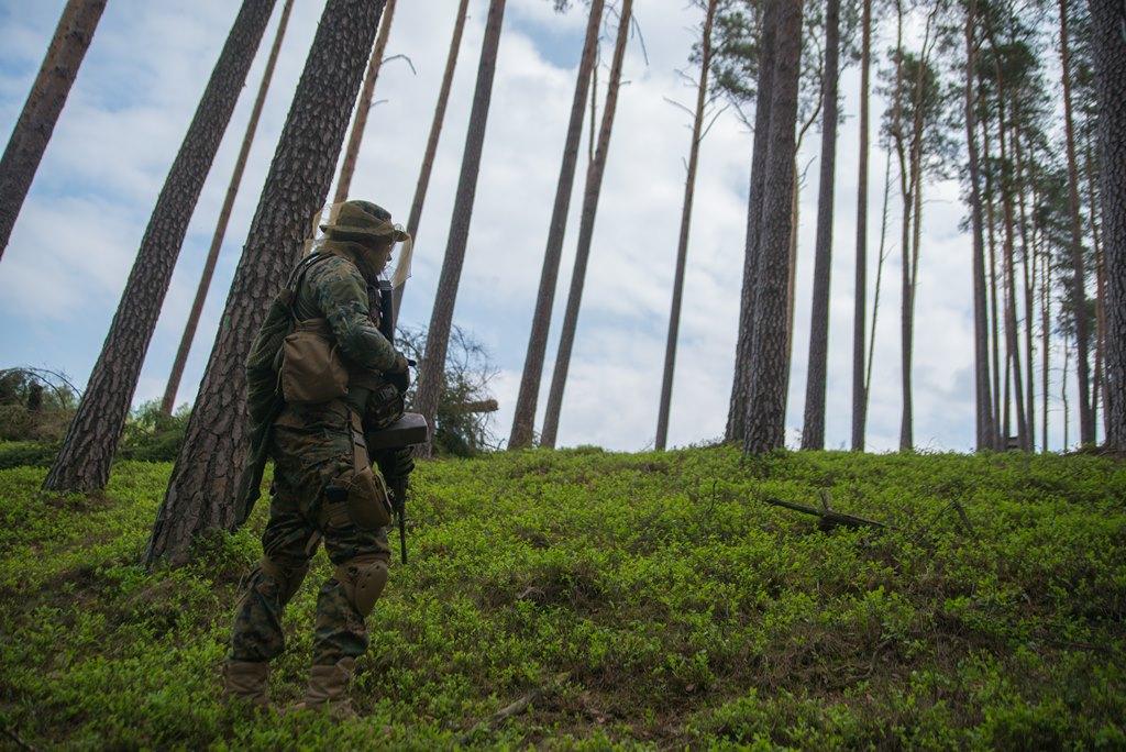 SiP OT Tuchola na ćwiczeniach taktyki zielonej