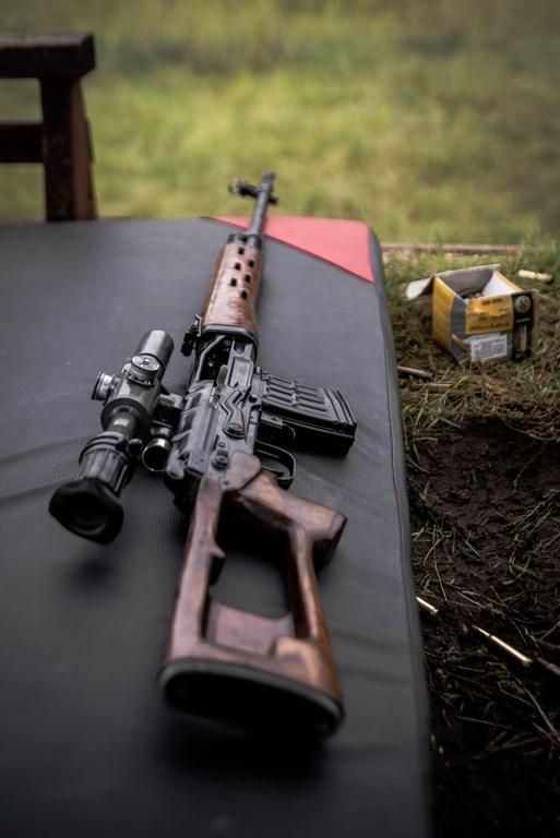 SiP Tuchola na zajęciach strzeleckich.